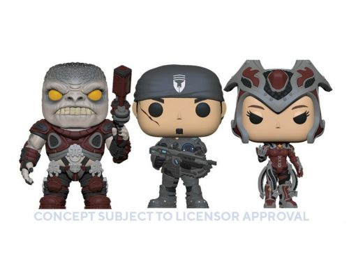 Funko unveils new Gears of War Pop! figures at London Toy Fair