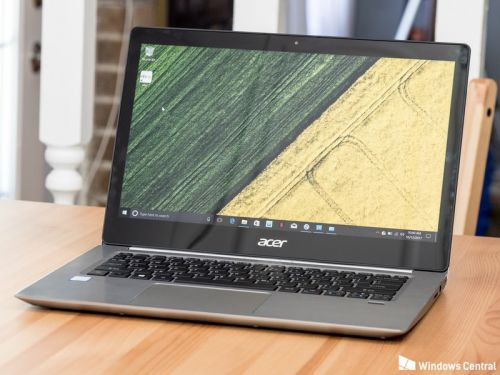 Acer Swift 3 isn't flashy but it gets the job done - and the price is right