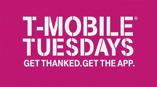 Next week's T-Mobile Tuesday gifts include Dunkin' Donuts card, Shutterfly discount, and more