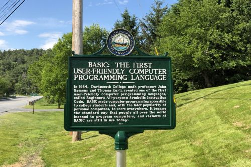 New Hampshire installs first historical marker to honor computer programming