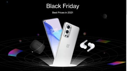 OnePlus starts hyping up Black Friday deals event