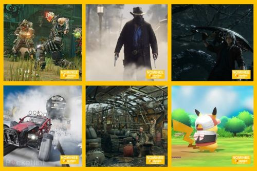Here are the EE Pocket-lint Awards nominees for Best Game 2019 and how to vote