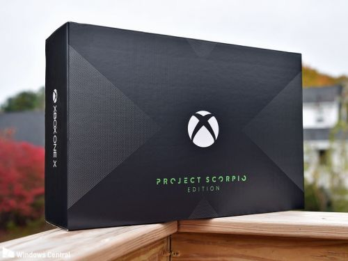 Unboxing Xbox One X Project Scorpio Edition