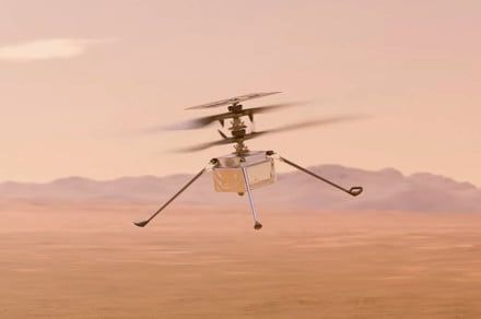 NASA's Mars helicopter nails second, more complex flight on red planet