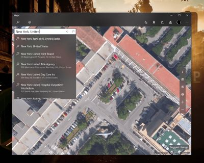 Early Project NEON related changes come to the Windows Maps app in Windows 10 for PCs and Mobile