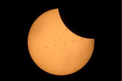 Check out these stunning photos of today's total solar eclipse