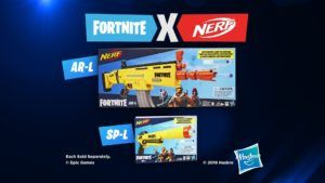 Nerf Elite Fortnite - SP-L et AR-L
