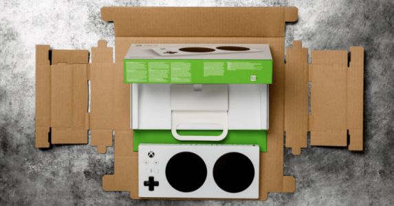Microsoft's Xbox Adaptive Controller packaging is made to be accessible to all