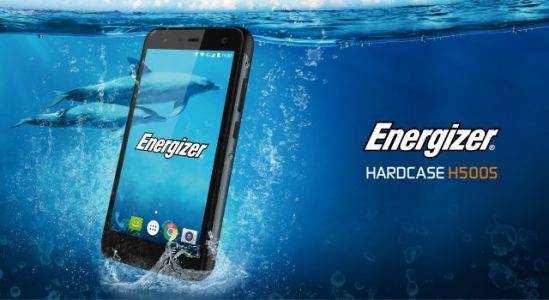 Introducing the Energizer® HARDCASE H500S: A Sleek Rugged Phone with a 3000mAh Battery