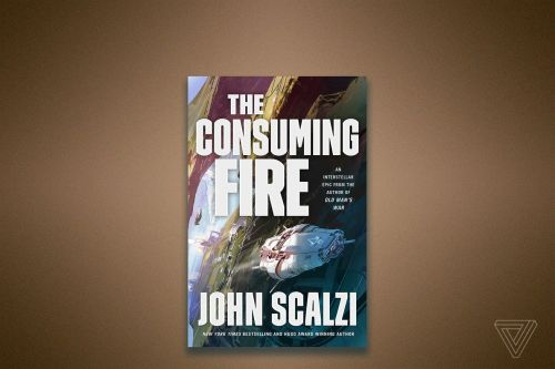 Listen to an excerpt from John Scalzi's next book, The Consuming Fire