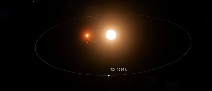 A High School Intern Found a Planet Orbiting Two Stars in the TOI 1338 System