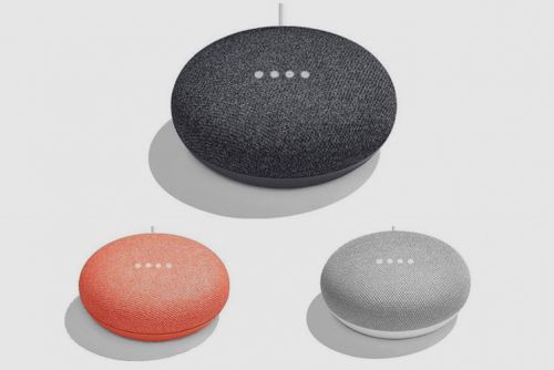 This is what Google's Home Mini speaker looks like and costs
