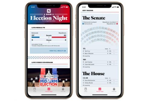 Apple News will launch real-time election results section on November 6