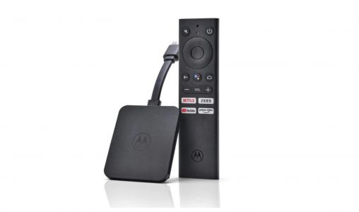 Motorola 4K Android TV streaming stick launched in India