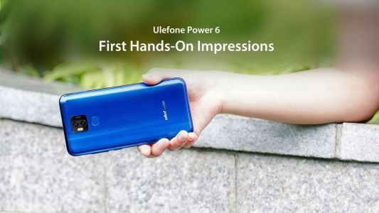 Ulefone Power 6 official hands-on video