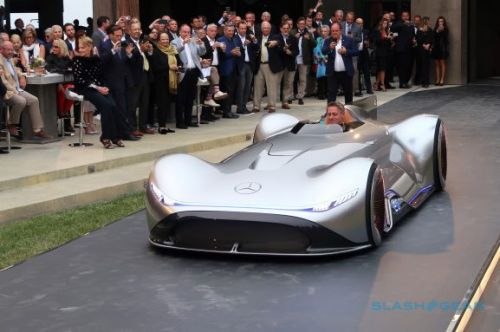 Mercedes' EQ Silver Arrow proves heritage and electrification can coexist