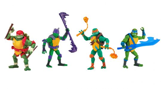 Tons Of New Teenage Mutant Ninja Turtles Toys Revealed