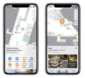 Apple Maps is bringing indoor maps to Toronto, Edmonton and Vancouver international airports