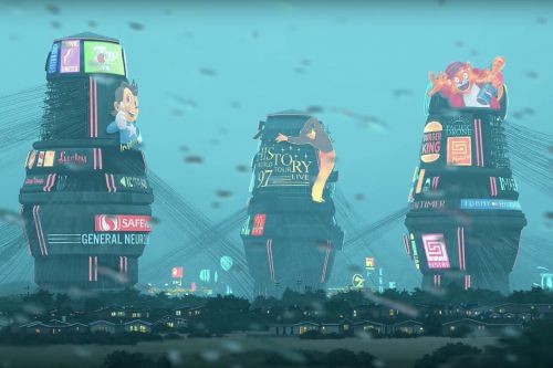 Watch Simon Stålenhag's art come to life in this fantastic fan-animated film