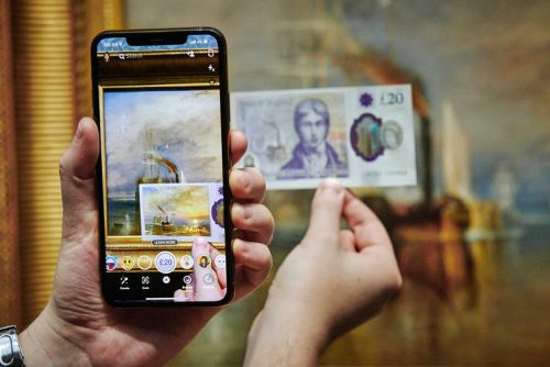 Snapchat filter brings new £20 note to life, animating Turner paintings in AR