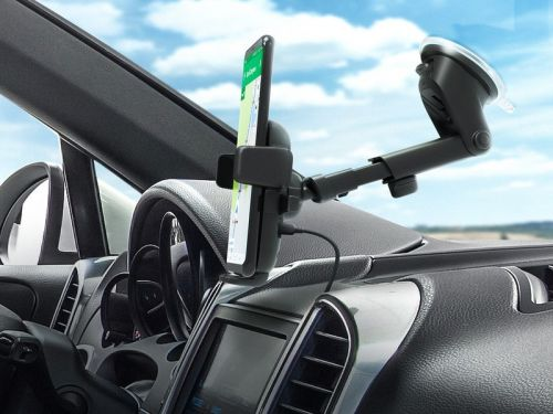IOttie car mounts are 30% off today only, like this $35 wireless charging version