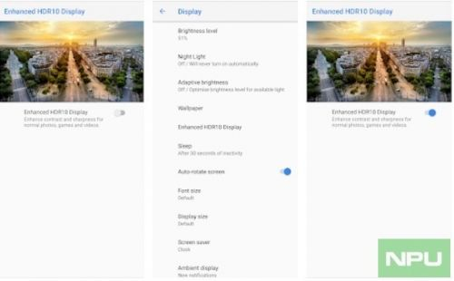 HDR Service for Nokia 7.1 appears in Play Store. Sales start in launch markets