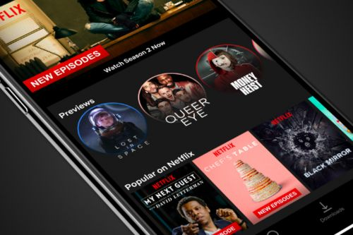 Netflix 'stories' are here with 30-second video previews in mobile apps