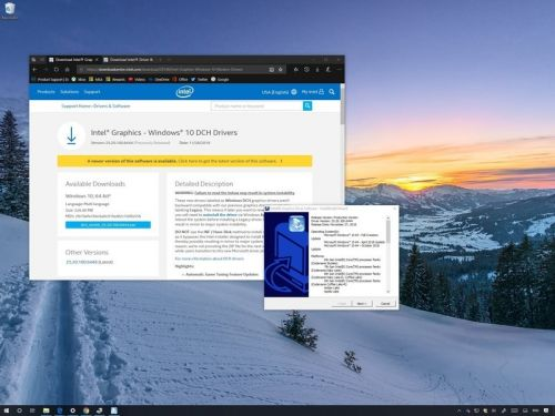 Intel has new modern graphics drivers. Here's how to install them properly