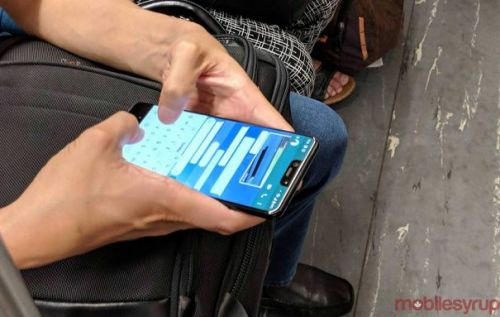 Pixel 3 XL Black spied in Toronto with notch and two front cameras