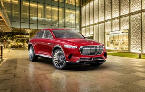 Vision Mercedes-Maybach Ultimate Luxury is a harmony of contrasts