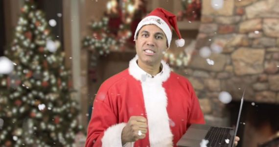 FCC chief Ajit Pai thinks now is a good time to joke about net neutrality