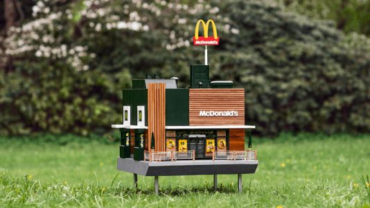 World's smallest McDonald's opens for bees - and it's amazing!