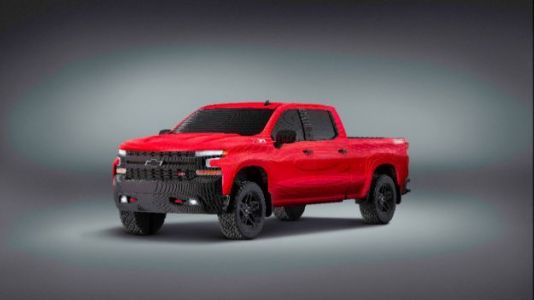 Watch: Chevy's Life-Size Lego Truck Is Built to Perfection
