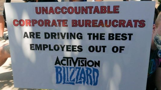 Activision Blizzard employees remain hopeful during walkout