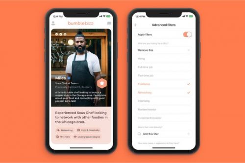 Bumble now lets you filter potential matches on Bumble Date, Bizz and BFF