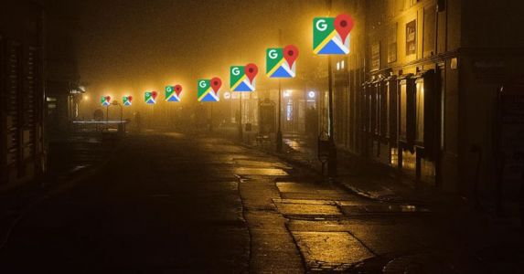 Google's developing a feature to show brightly lit streets on Maps