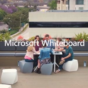 Microsoft launches Whiteboard for iOS