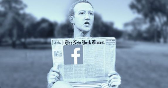 Mark Zuckerberg really wants you to know he reads the New York Times
