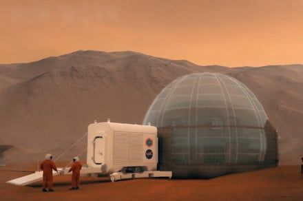 Kickstarter campaign aims to help make 3D-printed space habitats for Mars