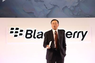 BlackBerry's stock had a great day after the company won a big dispute with Qualcomm