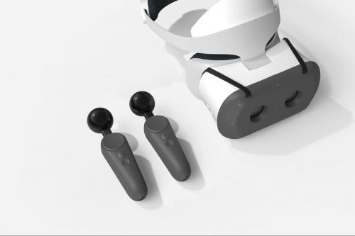 Google built VR motion controllers for the Lenovo Mirage Solo headset