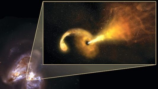 Astronomers Watch Black Hole Violently Destroy a Star