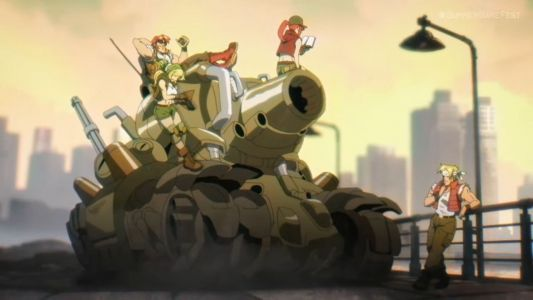 Metal Slug Tactics is a turn-based take on SNK's classic arcade action