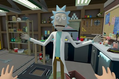 Rick and Morty in VR is just as weird and smart as the show