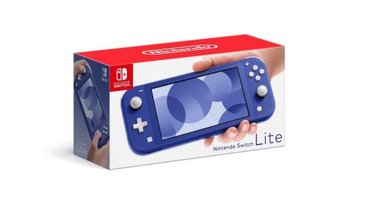 New Blue Nintendo Switch Lite Releases Next Month
