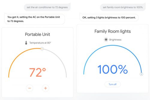 Google Assistant's visual smart home controls are on the way