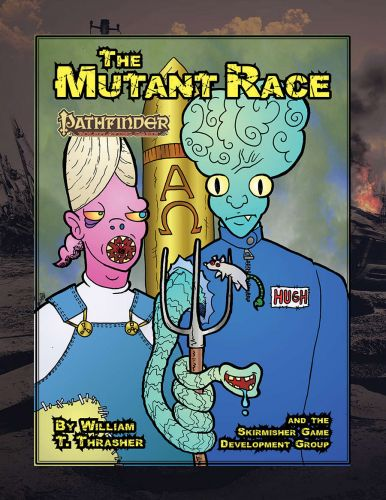 Skirmisher Publishing Releases The Mutant Race Player's Guide