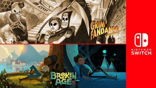Grim Fandango Remastered, Broken Age Coming to Switch