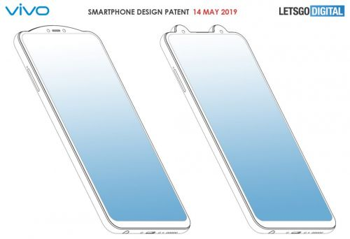 Vivo patented two new phone designs with external notches