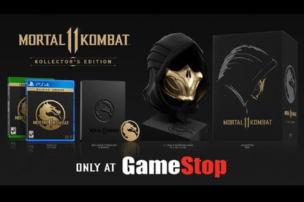 Mortal Kombat 11 Kollector's Edition comes with a life-size Scorpion mask